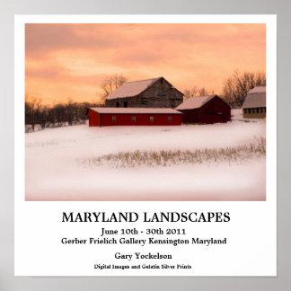 Maryland Landscapes Print