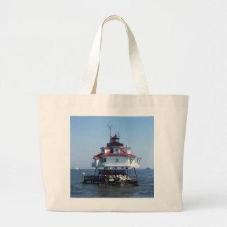 Maryland Lighthouse Large Tote Bag