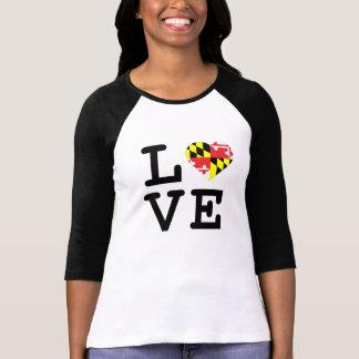 Maryland Love Three Quarter Length Tee