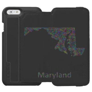 Maryland map incipio watson™ iPhone 6 wallet case