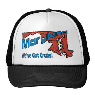 Maryland MD US Motto ~ We've Got Crabs Cap