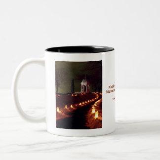 Maryland Monument (89) Two-Tone Coffee Mug