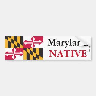 Maryland Native Bumper Sticker