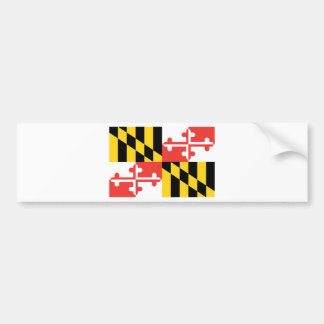 Maryland  Official State Flag Bumper Sticker