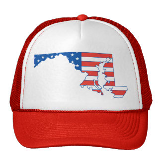 Maryland Patriotic Hat Hat