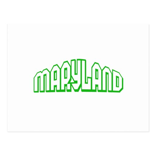 Maryland Post Cards