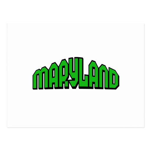 Maryland Post Card