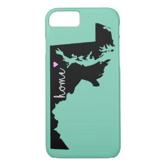 Maryland Pride iPhone 7 Barely There Case