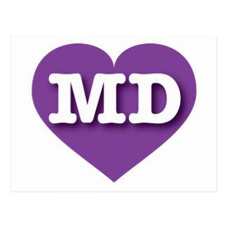 Maryland purple heart - Big Love Postcard
