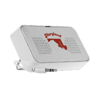 MARYLAND Red State Portable Speakers