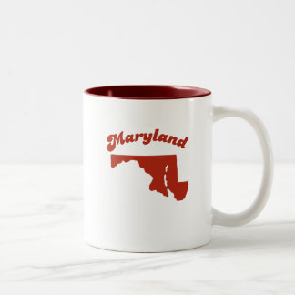 MARYLAND Red State Two-Tone Mug