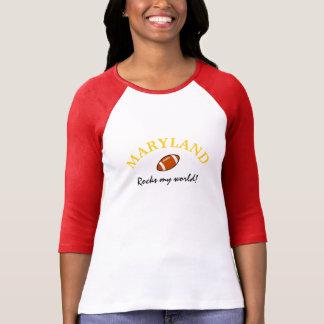 Maryland Rocks Football T-Shirt