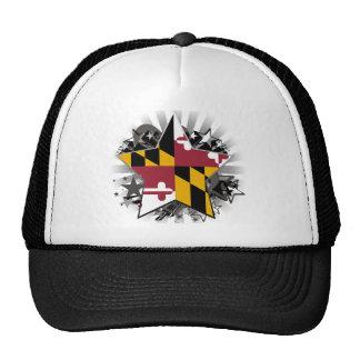 Maryland Star Mesh Hat