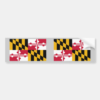 Maryland State Flag Bumper Sticker