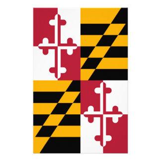 Maryland State Flag Colors Decor 14 Cm X 21.5 Cm Flyer