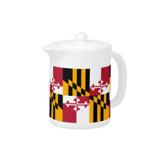 Maryland State Flag Design Accent