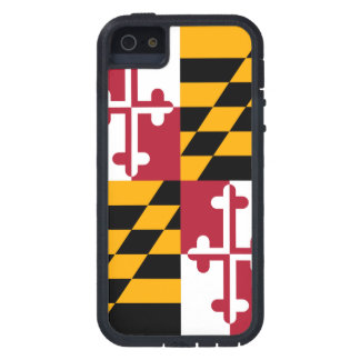 Maryland State Flag Design Decor Case For The iPhone 5
