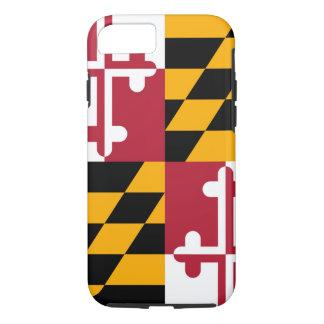 Maryland State Flag Design iPhone 7 Case
