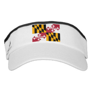 Maryland State Flag Design Visor