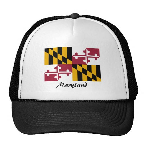 Maryland State Flag Hat