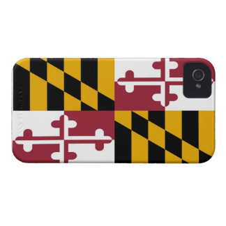 Maryland State Flag iPhone 4 Case-Mate Cases