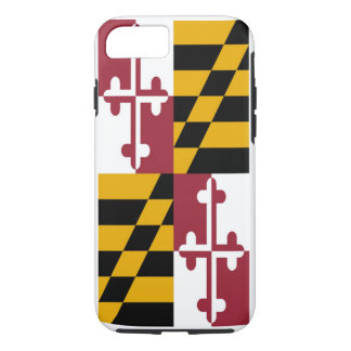 Maryland State Flag iPhone 7 Case