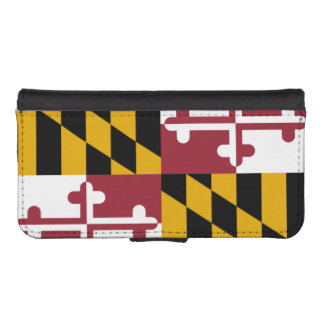 Maryland State Flag iPhone SE/5/5s Wallet Case