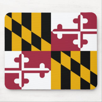 Maryland State Flag Mouse Mat