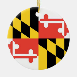 Maryland State Flag Ornament