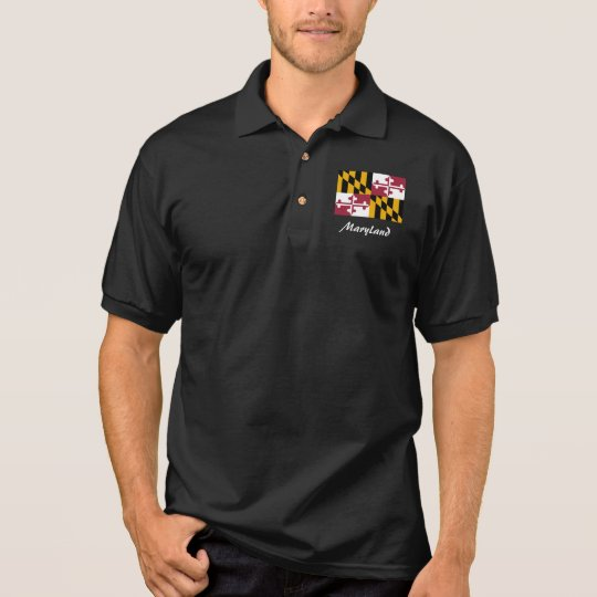 Maryland State Flag Polo Shirt