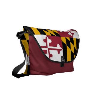 Maryland State Flag Rickshaw Messenger Bag
