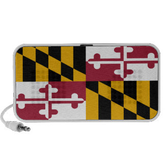 Maryland State Flag iPod Speakers