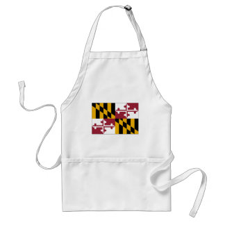 Maryland State Flag Standard Apron