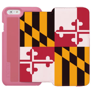 Maryland State Flag Stylish Decor Incipio Watson™ iPhone 6 Wallet Case