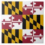 Maryland State Flag Tile