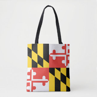 Maryland State Flag Tote Bag