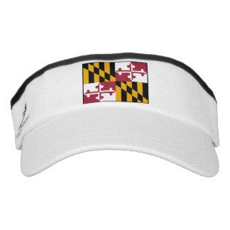 Maryland State Flag Visor