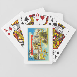 Maryland State MD Old Vintage Travel Postcard- Playing Cards