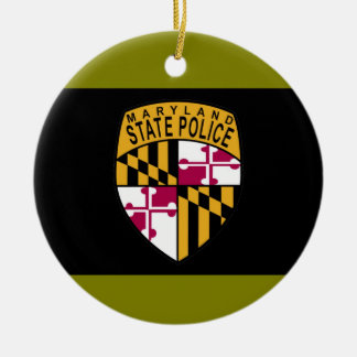 Maryland State Police Ornament
