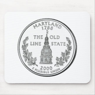 Maryland State Quarter Mouse Pad