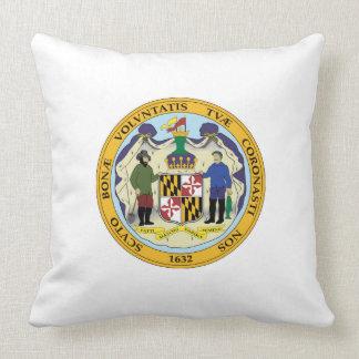 Maryland state seal america republic symbol flag cushion