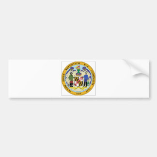Maryland State Seal Bumper Sticker