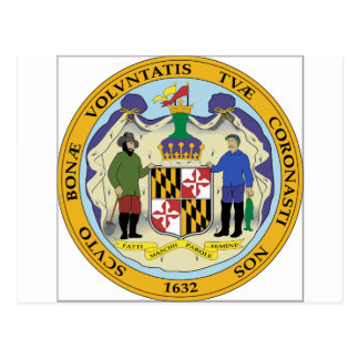 Maryland State Seal Postcards