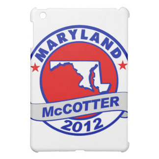 Maryland Thad McCotter iPad Mini Cases
