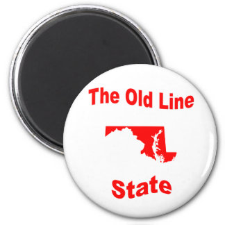 Maryland The Old Line State Magnets