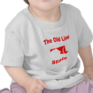 Maryland The Old Line State T Shirt