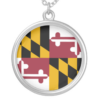 Maryland, United States Silver Plated Necklace