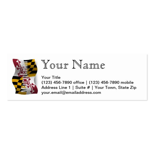 Create Your Own Coast Guard Business Cards Page4