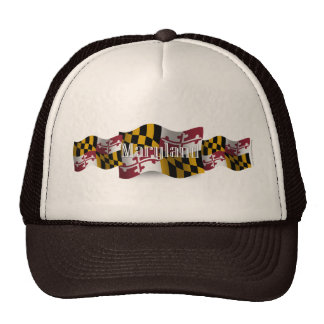 Maryland Waving Flag Hats