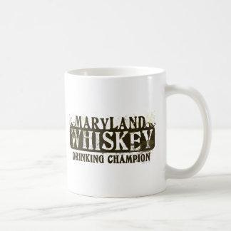 Maryland Whiskey Drinking Champion Coffee Mug